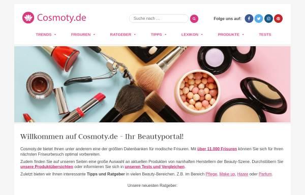 Vorschau von www.cosmoty.de, Cosmoty