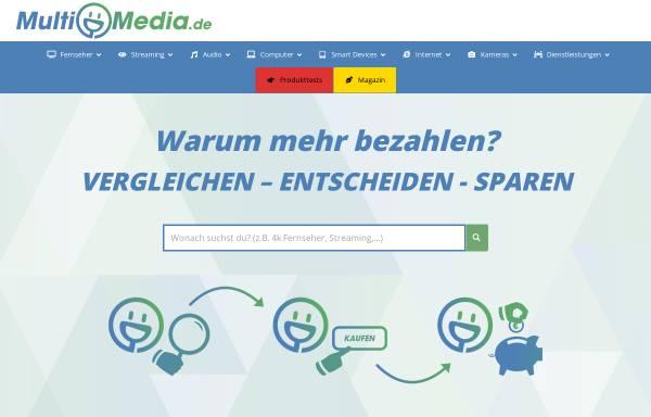 Vorschau von www.multimedia.de, Multimedia.de