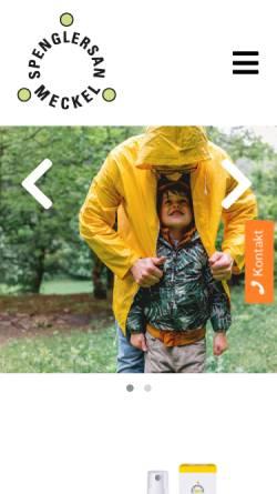 Vorschau der mobilen Webseite www.spenglersan.de, Meckel-Spenglersan GmbH