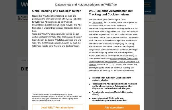 Vorschau von www.welt.de, Wenn Friseusen zuviel reden