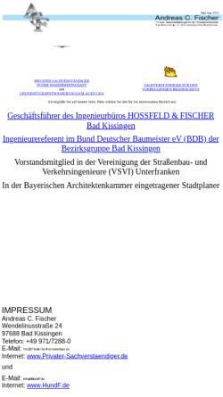 Vorschau der mobilen Webseite www.privater-sachverstaendiger.de, Fischer, Andreas C.