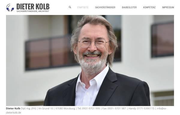 Vorschau von www.sv-dieterkolb.de, Kolb, Dieter