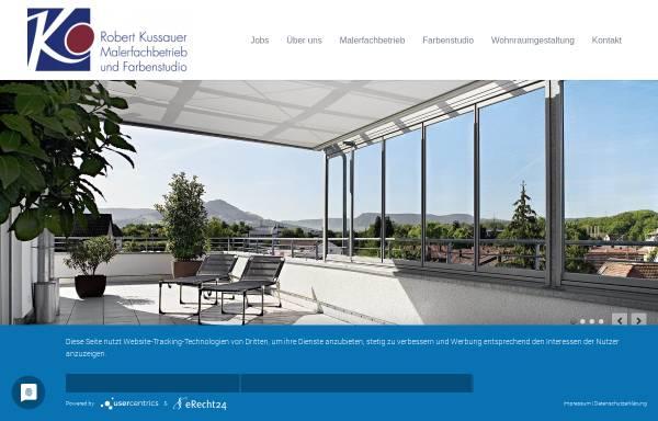 Vorschau von www.farben-kussauer.de, Kussauer, Robert