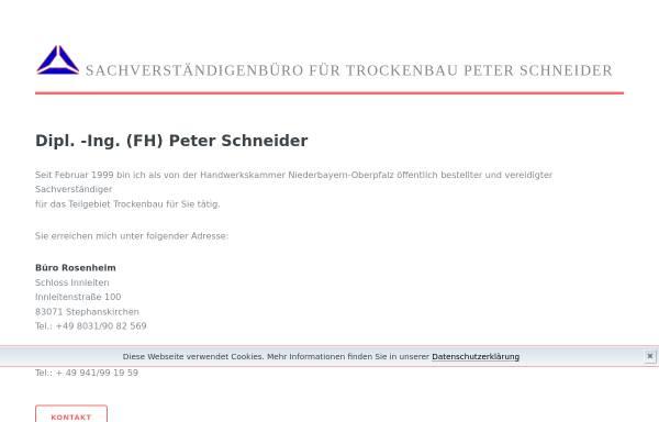 Vorschau von www.sv-schneider.de, Schneider, Peter