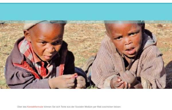 Vorschau von www.sozialemedizin.ch, Soziale Medizin