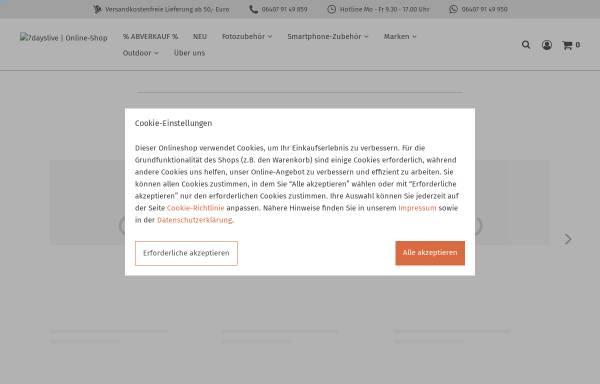 Vorschau von www.7dayslive.de, Fotofachhandel Dr. Lang GmbH