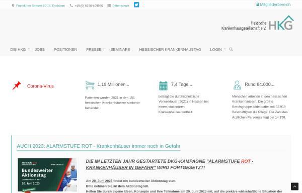 Vorschau von www.hkg-online.de, Hessische Krankenhausgesellschaft