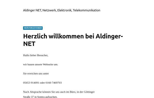 Vorschau von www.aldinger-net.de, Aldinger Consulting