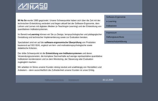 Vorschau von www.mihaso.de, IT-Security