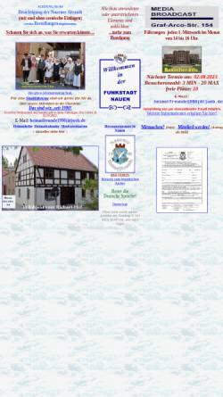 Vorschau der mobilen Webseite www.funkstadt-nauen.de, Funkstadt Nauen