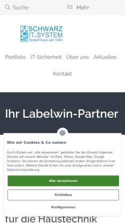 Vorschau der mobilen Webseite mcs-handwerk.de, MCS - MUNICH COMPUTER SERVICE