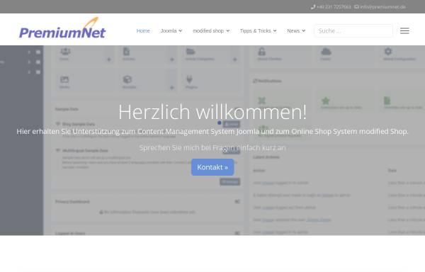 Vorschau von www.premiumnet.de, PremiumNet DV-Consulting