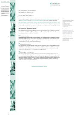 Vorschau der mobilen Webseite www.meyenburg-mb.de, Meyenburg Managementberatung