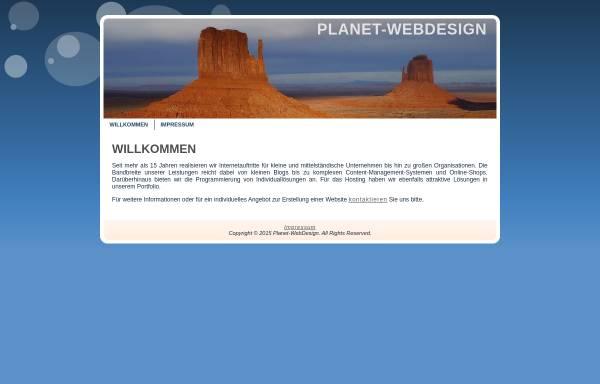 Vorschau von www.planet-webdesign.de, Planet-Webdesign