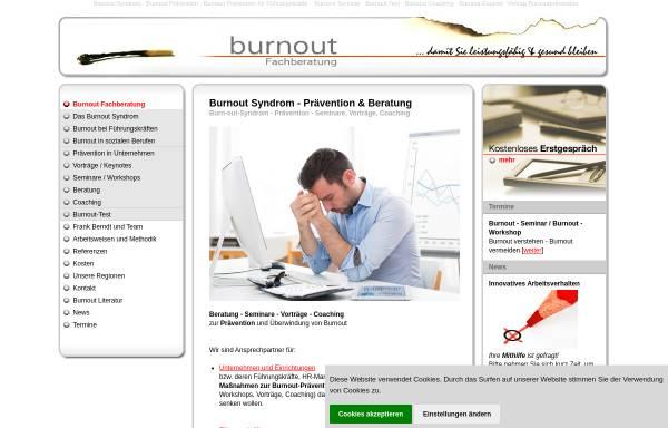 Vorschau von www.burnout-fachberatung.de, Burnout Fachberatung