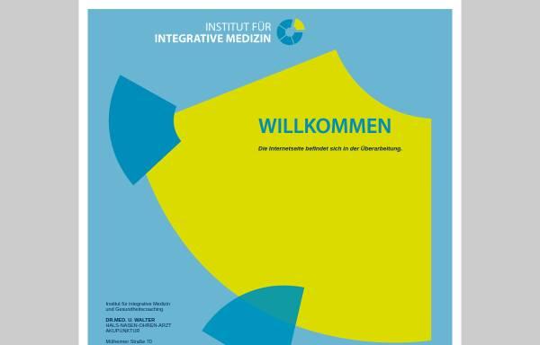 Vorschau von www.institut-integrative-medizin.de, Institut für integrative Medizin