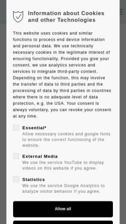 Vorschau der mobilen Webseite www.columbus-verlag.de, Columbus Verlag Paul Oestergaard GmbH