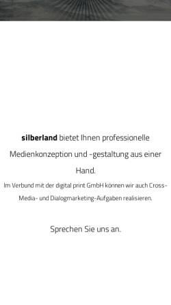 Vorschau der mobilen Webseite www.silberland.tv, Silberland medienprojekte GmbH