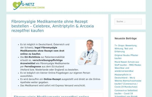 Vorschau von www.d-f-s.de, Deutschen Fibromyalgie Selbsthilfe e.V.