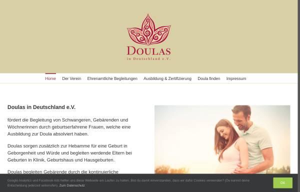 Vorschau von www.doulas-in-deutschland.de, Doulas in Deutschland e.V.