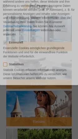 Vorschau der mobilen Webseite ich-werde-papa.blog.de, Ich werde Papa