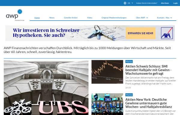 Vorschau von www.awp.ch, Awp Finanznachrichten