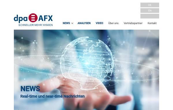 Vorschau von www.dpa-afx.de, Dpa-AFX Wirtschaftsnachrichten GmbH