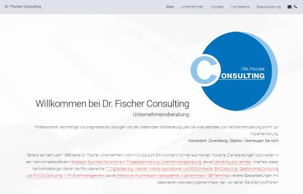 Vorschau von www.drfconsulting.de, Dr. Lars Fischer Consulting