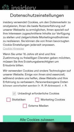 Vorschau der mobilen Webseite www.faircontrol.de, FairControl GmbH