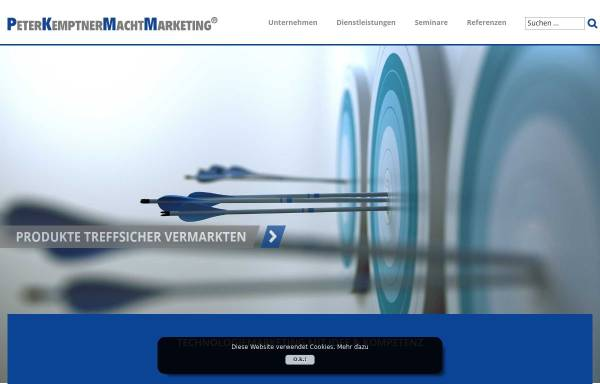 Vorschau von www.kemptner.com, Ing. Peter W. Kemptner