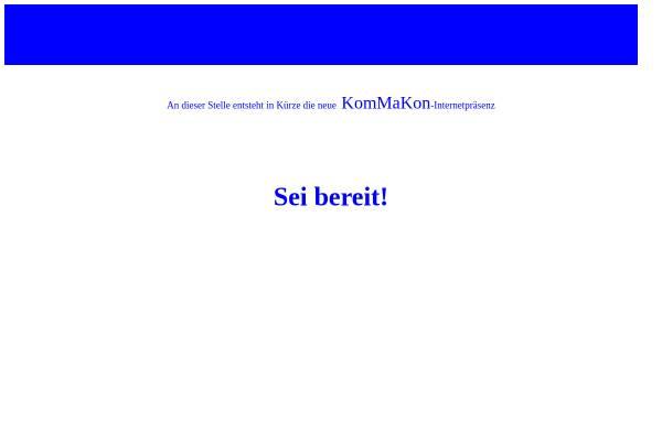 Vorschau von www.kommakon.de, KomMaKon - Gerkowski