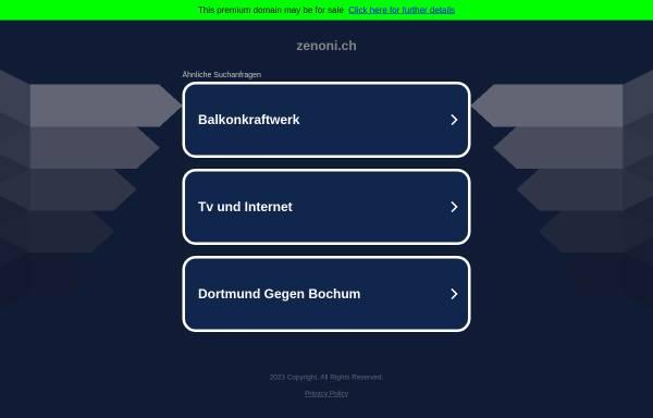 Vorschau von www.zenoni.ch, Roman Zenoni