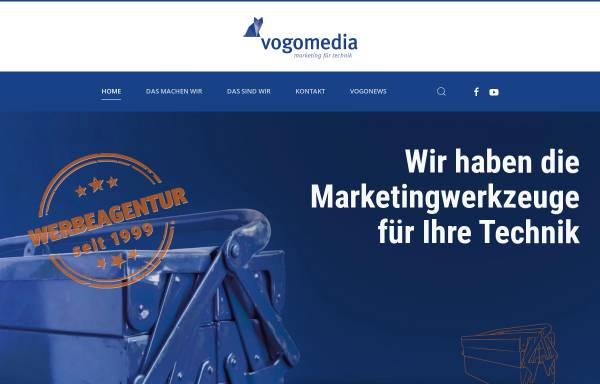Vorschau von www.vogomedia.de, Vogomedia Marketing und Kommunikation