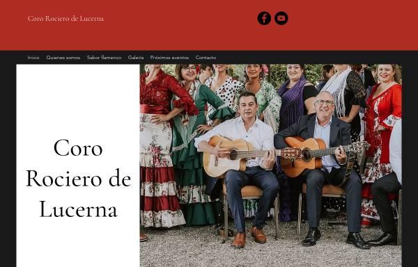 Vorschau von www.coro-rociero.ch, Coro Rociero de Lucerna