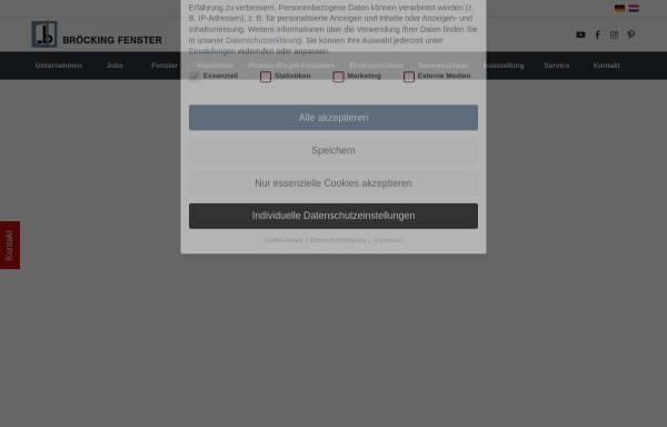 Vorschau von www.broeckingfenster.de, Bröcking Fenster oHG