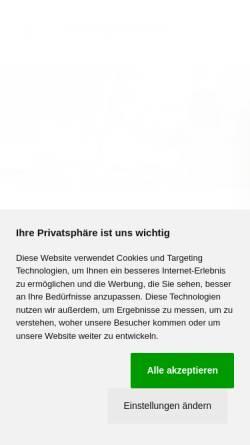 Vorschau der mobilen Webseite www.verasonn.de, Nawitec GmbH & Co. KG