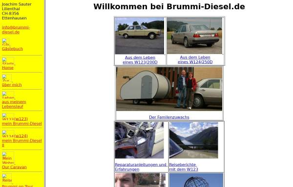 Vorschau von www.brummi-diesel.de, Sauter, Joachim