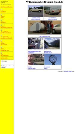 Vorschau der mobilen Webseite www.brummi-diesel.de, Sauter, Joachim