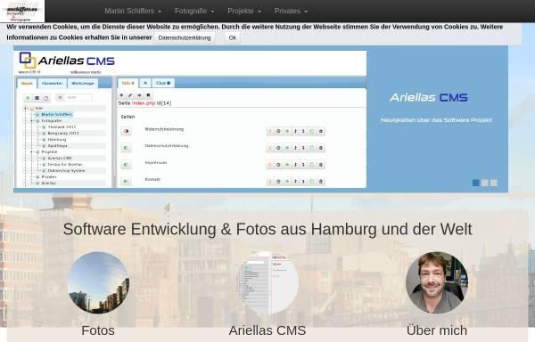 Vorschau von www.mschiffers.eu, Martin S. Schiffers