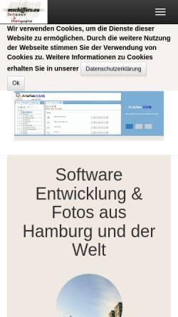 Vorschau der mobilen Webseite www.mschiffers.eu, Martin S. Schiffers