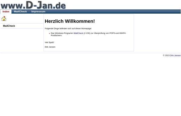 Vorschau von www.d-jan.de, www.D-Jan.de