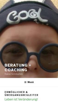Vorschau der mobilen Webseite schoeberlein.com, Schöberlein, Rainer und Martina