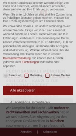Vorschau der mobilen Webseite www.familie-steinbacher.de, Steinbacher, Familie