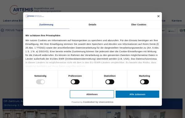 Vorschau von www.augenportal.de, AZ Augenchirurgische Zentren AG