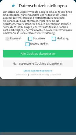 Vorschau der mobilen Webseite www.augenportal.de, AZ Augenchirurgische Zentren AG