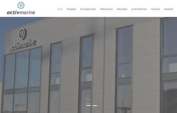 Vorschau von www.activmarine.de, Activ Marine GmbH