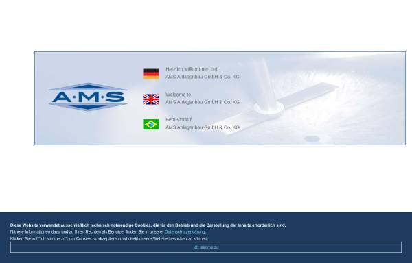 Vorschau von www.ams-anlagenbau.de, AMS-Anlagen GmbH