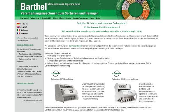Vorschau von www.barmai.de, Barthel - Maschinen und Ingenieurbüro
