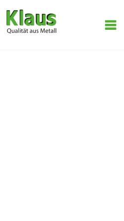 Vorschau der mobilen Webseite www.fiederlegmbh.de, Fiederle GmbH