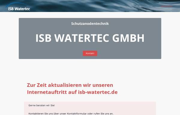 Vorschau von www.isb-watertec.de, ISB Watertec GmbH